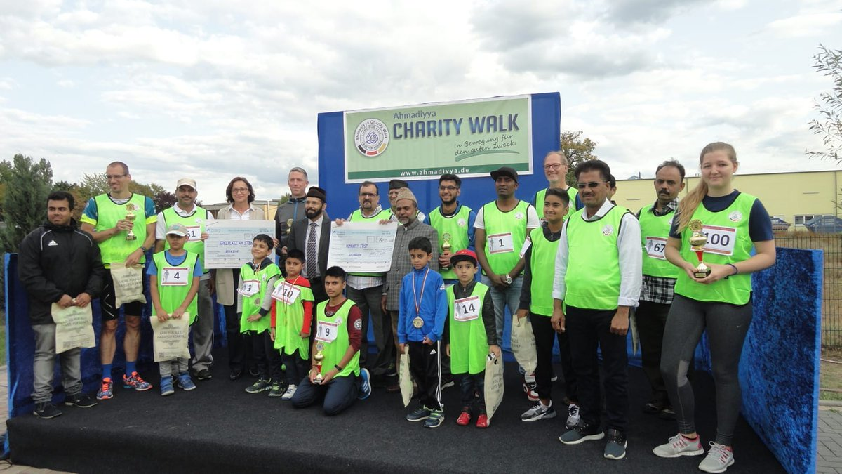 Bilder: Ahmadiyya Charity Walk in Seligenstadt